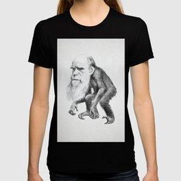 Charles Darwin as an Ape, caricature 1871 T-shirt