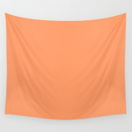 Tangerine Wall Tapestry