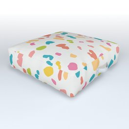 Colorful Animal Print Outdoor Floor Cushion