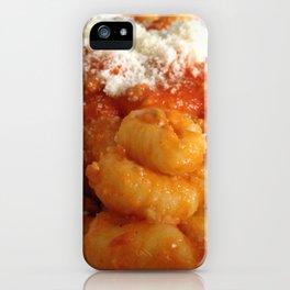 """Italians """"Gnocchi al Ragù"""" iPhone Case"""