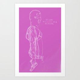 Spring Breakers/Vampire Weekend (Pink) Art Print