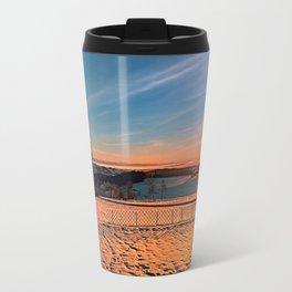 Colorful winter wonderland sundown IV | landscape photography Travel Mug