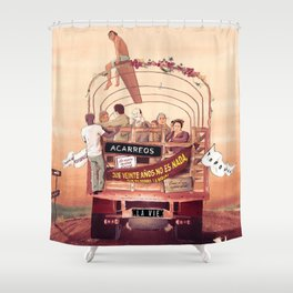 La Vie Shower Curtain