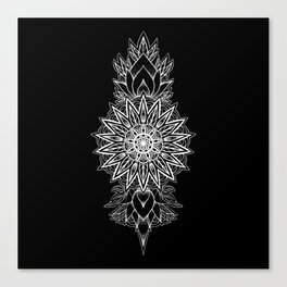 twirling tower Canvas Print