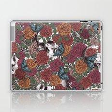 Roses, Skulls and Butterflies Laptop & iPad Skin