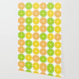 Citrus fruit slices Wallpaper