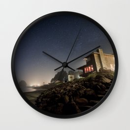 Starry Beach Wall Clock