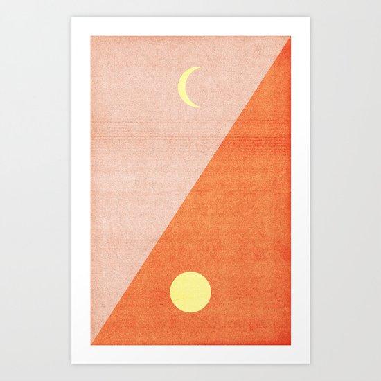 Last Days of Summer. Art Print