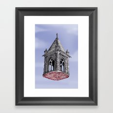 Fleshy Architecture  Framed Art Print