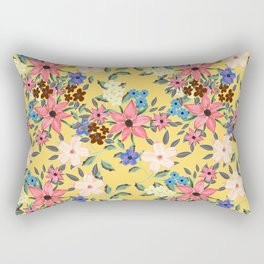 Stylish garden floral design Rectangular Pillow