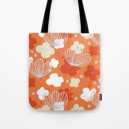 Spring Garden M+M Tangerine by Friztin Tote Bag