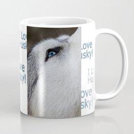Husky eye Coffee Mug