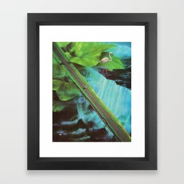 Via Primordia Framed Art Print