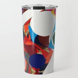 Slanting Falling Colortime Explosion Travel Mug