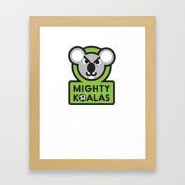 MIGHTY KOALAS T-shirt Framed Art Print