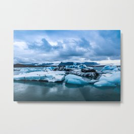 Icescape Metal Print