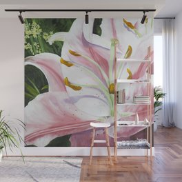 Pink Lily for Mom Wall Mural