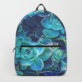 Green Succulents Backpack