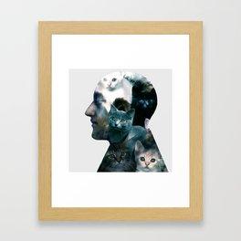 Ben Johnston Kittens Framed Art Print