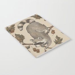 The Raccoon and Sycamore Notebook