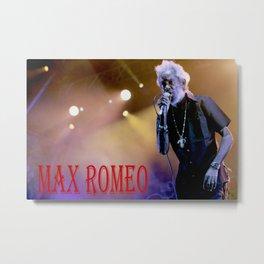 Max Romeo Rototom Sunsplash 2016 1 Metal Print