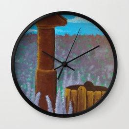 Water pump Wall Clock