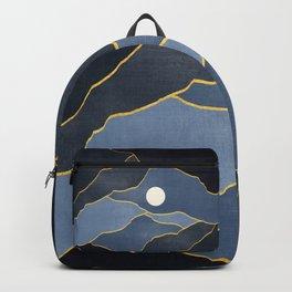 Surreal sunset 04 Backpack