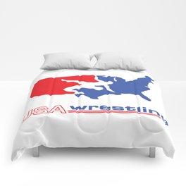 USA Wrestling Comforters