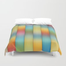 Beautiful, Colorful Stripes Duvet Cover