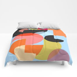 Abstract Composition 624 Comforters