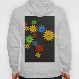 Colorful gears Hoody
