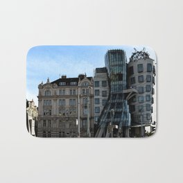 The Dancing House in Prague by Frank Grehry Bath Mat