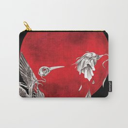 Revived Hummingbird Carry-All Pouch