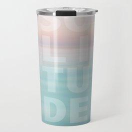 Solitude Calm Waters Travel Mug