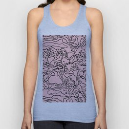 Travels of human skin Unisex Tank Top