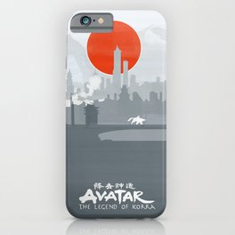 Avatar The Legend of Korra Poster iPhone Case