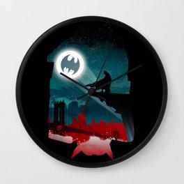 Bat-Man Wall Clock
