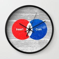 Vend Diagram Wall Clock