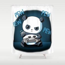 PANDA PEW Shower Curtain