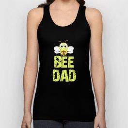 BEE DAD Funny Bee Lover Gift Unisex Tank Top