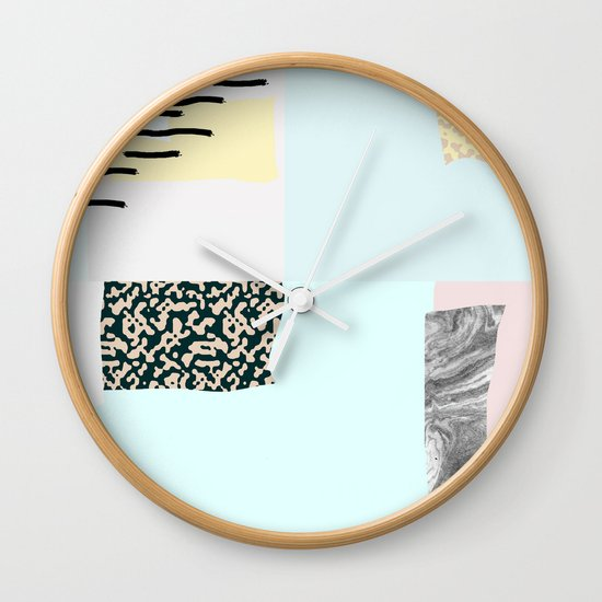 On the wall#4 Wall Clock