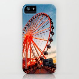 Sunset in Maryland iPhone Case