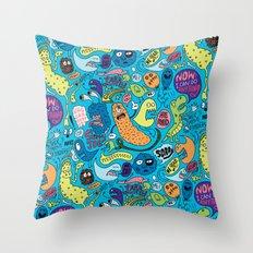 Gettin' Loose Pattern Throw Pillow