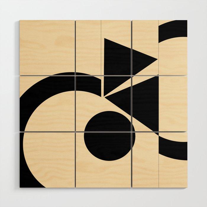 Abstract Wood Wall Art