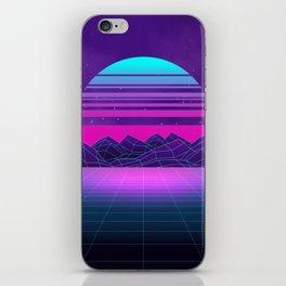 Future Sunset Vaporwave Aesthetic iPhone Skin