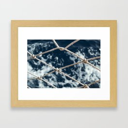 Nautical rope Framed Art Print
