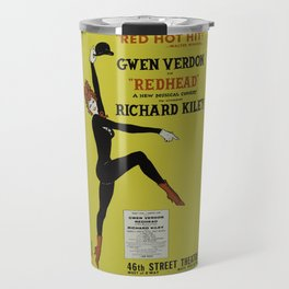 Vintage Musical poster Travel Mug
