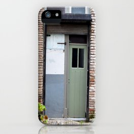 Narrow door iPhone Case