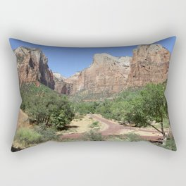 Crossroads At The Court Of The Patriarchs Rectangular Pillow