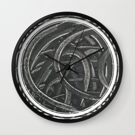 Junction - line/circle graphic Wall Clock
